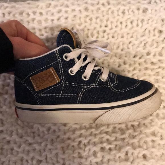 e88dca6a6a Vans Half Cab Toddler 6 Jean color. M 5c47b912c89e1d48e3491e0a